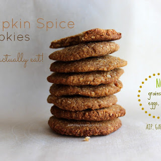 Pumpkin Spice Cookies You Can Actually EAT!
