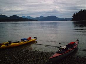 Photo: Taking a break on Johnstone Strait.