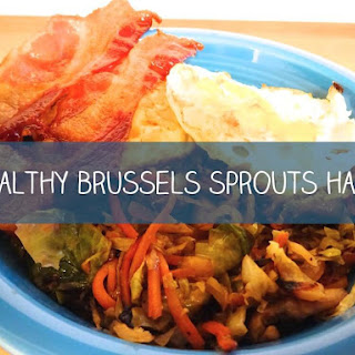 Healthy Vegan Brussels Sprouts Hash