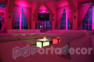 Photo: Coffe table and lounge seating for a bat mitzvah