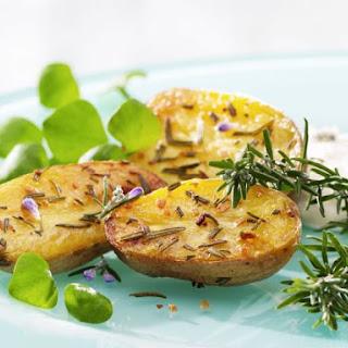 Oven Baked Potato With Sea Salt Recipes