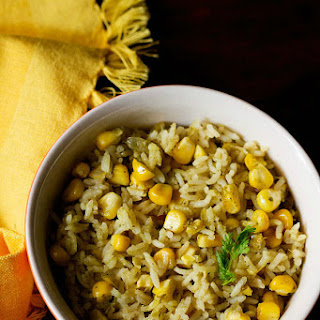 Corn Pulao Recipe | Corn Rice