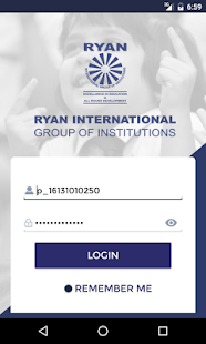 Ryan Parent Portal - náhled