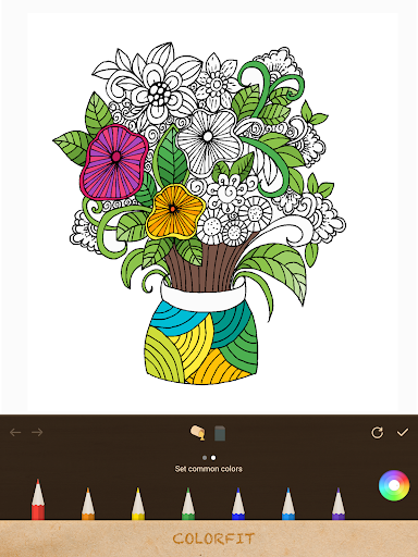 秘密乐园Colorfit、填色本、填色书coloring|玩休閒App免費|玩APPs