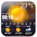 Live weather and temperature app ❄☔️ icon