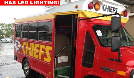 Bus trip avec les Chiefs, reservez votre place