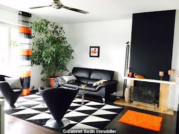 Appartement meublé 3 pièces 82,8 m2