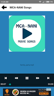 MCA - Middle Class Abbai : Nani Songs - náhled