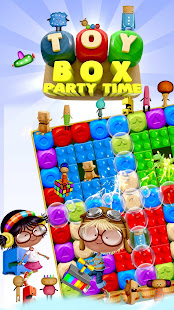 Toy Box Party Blast Time – Match Crush Toon Cubes 25