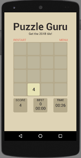 2048 Puzzle Guru