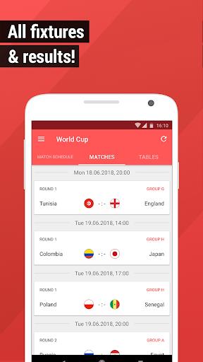 World Cup App 2018 - Live Scores & Fixtures  2