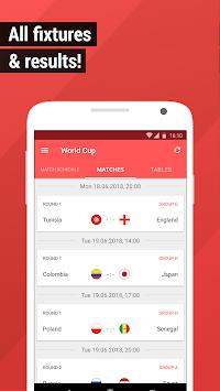 World Cup App 2018 - Live Scores & Fixtures