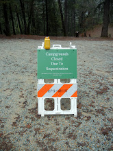 Photo: Campgrounds at Whiskeytown Lake closed due to Sequestration