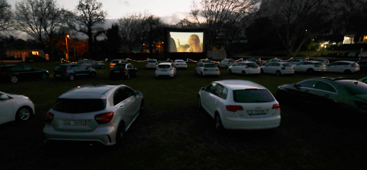 Galileo Open Air Cinema brought the drive-in back to Rondebosch, Cape Town while keeping movie-goers secure on August 16 2020.