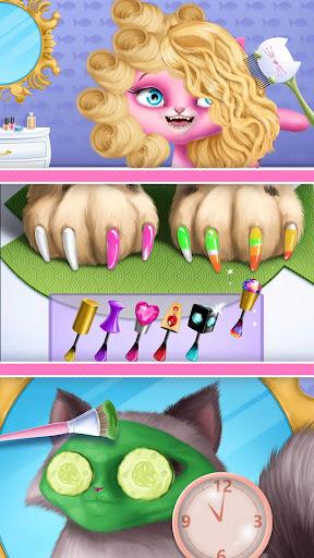 Cat Hair Salon Birthday Party - Virtual Kitty Care 6.0.20 screenshots 8