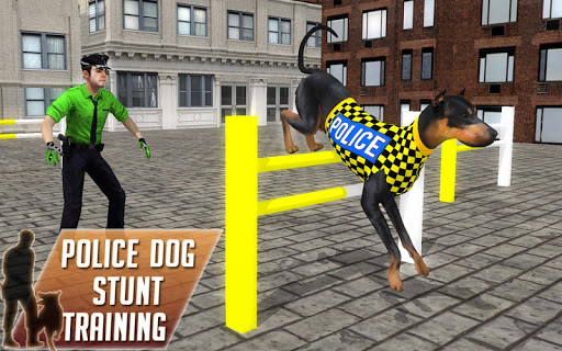 Police Dog Stunt Training