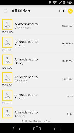 OneWay.Cab Partner  screenshots 3