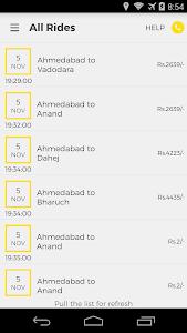 OneWay.Cab Partner screenshot 2