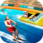 Water Skiing Speed Race icon