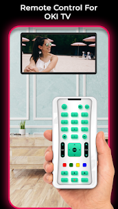 Remote Control For OKI TV 2.0 Mod + Data for Android 1