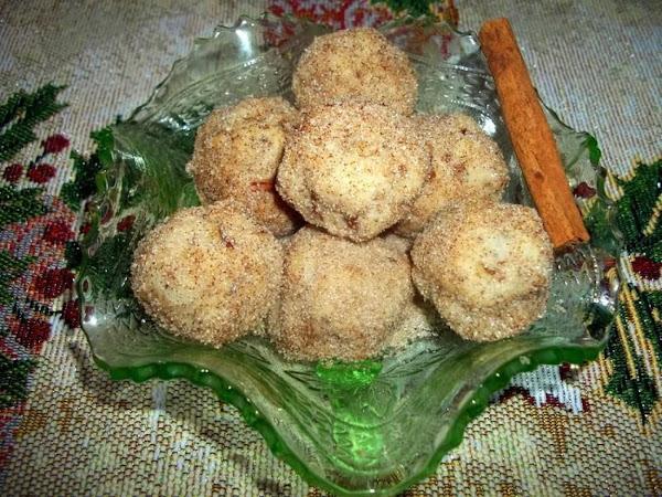 ~ Cinnamon Ball Cookies ~ So Easy Recipe
