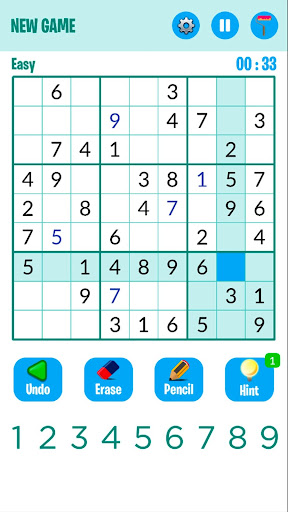 Sudoku 2020 1.4 screenshots 1