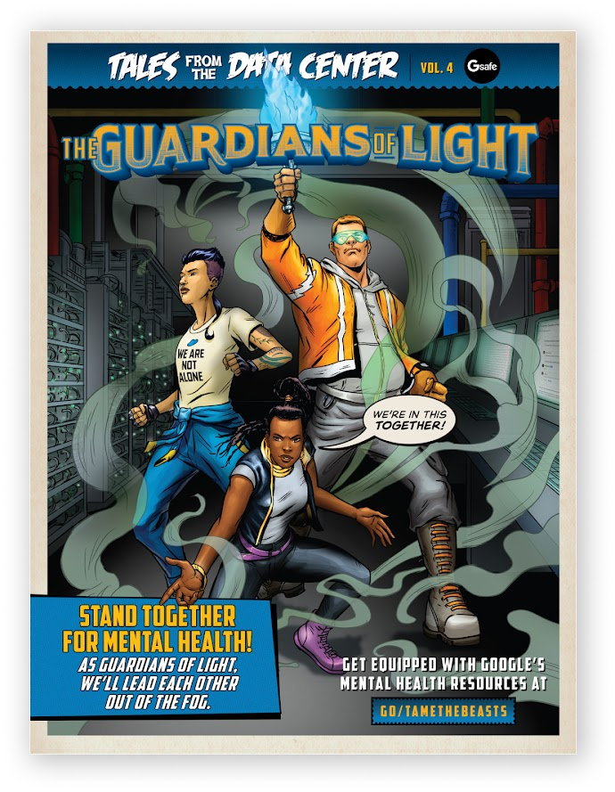Coping Card of Guardians of Light Series.