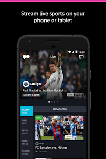 go90 - Stream TV & Live Sports: miniatura de captura de pantalla