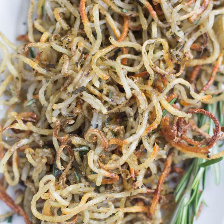 Spiralized Rosemary Potatoes