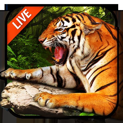 3D Tiger Live Wallpaper 2018