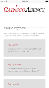 GAINSCO Auto Insurance- screenshot thumbnail