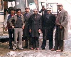 Photo: Köksal ÇAKMAKÇI, Naci ÖZÇELİK, Göleli, Abbas ÇAKMAKÇI, gÖLELİ, Kemal AKKOÇ (arkadaki İlter SARIKAYA)
