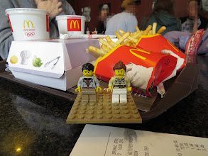 Photo: Brussels' McDonald's