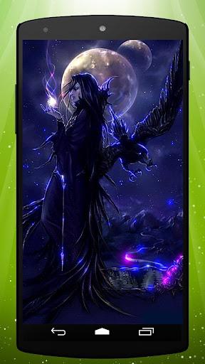 Mystic Raven Live Wallpaper