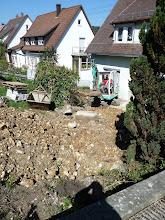 Photo: das nächste Fundament ist weg.....