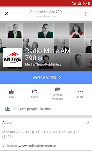 Radio Mitre 790 AM screenshot 1