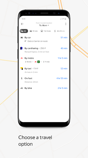 Yandex.Maps and Transport 9.5 Screenshots 6
