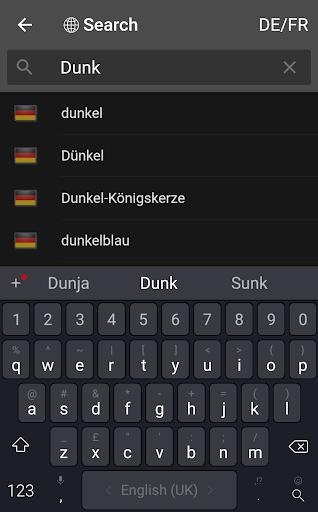 dict.cc dictionary screenshot 3