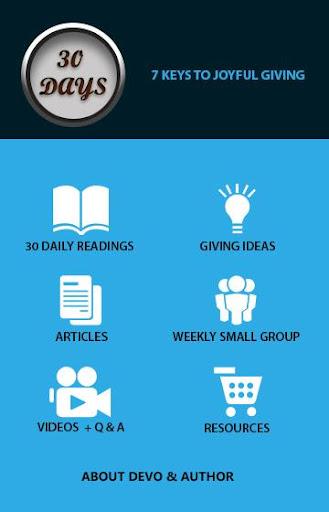 30 Days of Joyful Giving