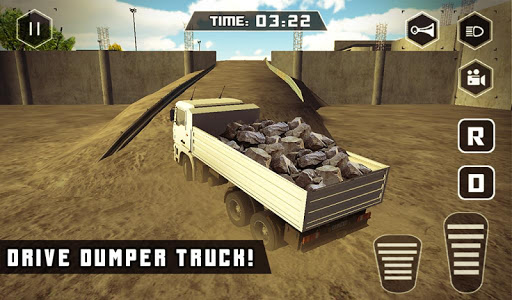 Stone Crusher Crane Operator game (apk) free download for Android/PC/Windows screenshot