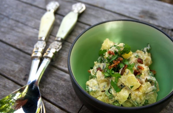 Applewood Smoked Salt Potato Salad Recipe