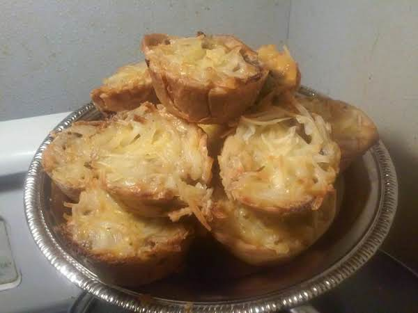 The Finished Pies Are Golden Brown All The Way Around And Moist And Tender And Favorable Inside.