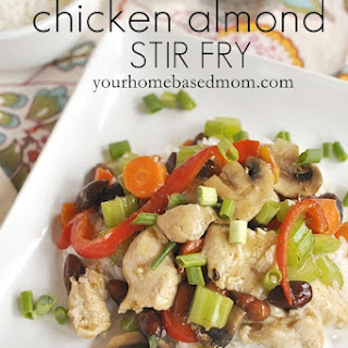 Chicken Almond Stir Fry