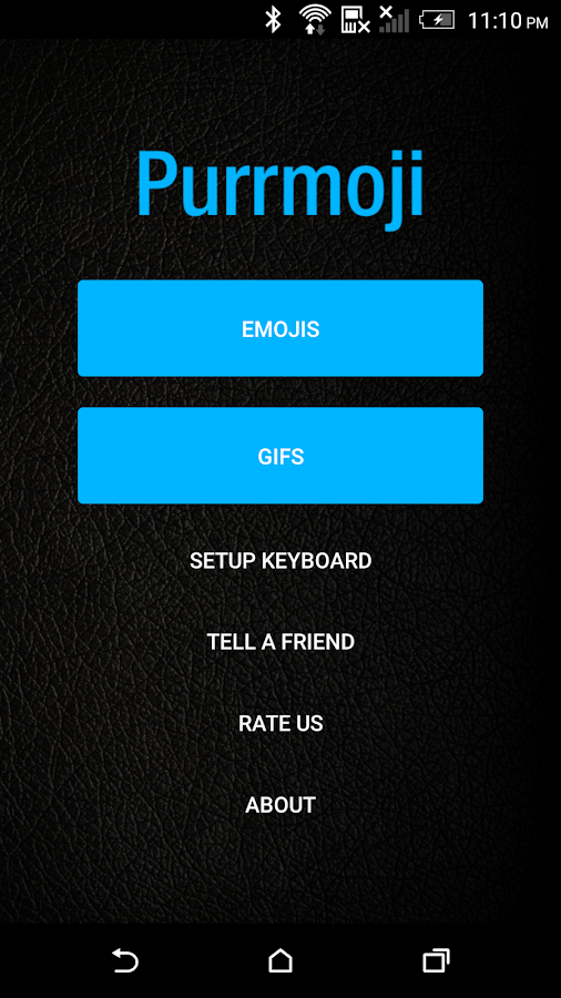 Purrmoji Keyboard- screenshot