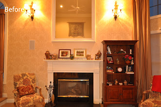 Photo: (Before) Family room Mantle VG, Royersford PA