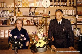 Photo: Affär, sista arbetsdagen i Oskar David Franssons affär 1965