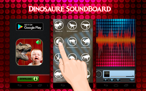 jurassic indo raptor voice : dinosaur soundboard screenshot 2