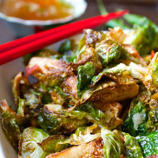 Crispy Thai Brussels Sprouts