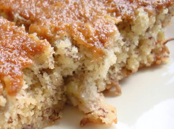 Waiole Tea Room Banana Cake Recipe