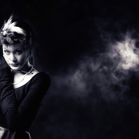 Back to 40's (2) by Andreas Sugiarto - Black & White Portraits & People